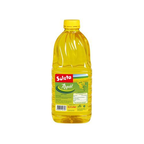 Soleta Rapsöl 2.5l Flasche