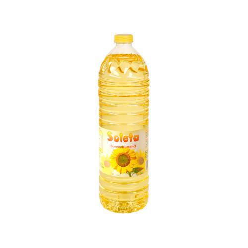 Soleta Sonnenblumenöl 1l Flasche
