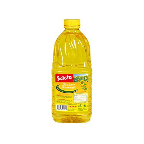 Soleta Sonnenblumenöl 2.5l Flasche